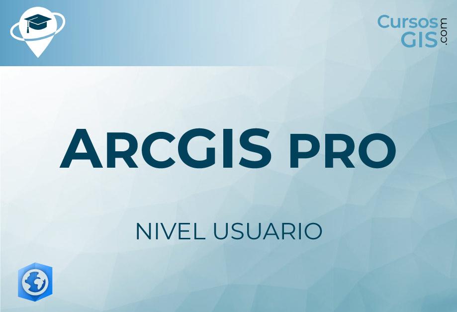 Imagen de portada - Curso online ArcGIS Pro usuario